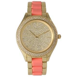 Olivia Pratt Rhinestone Sparkle Bracelet Watch