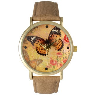 Olivia Pratt Butterflies and Roses Watch