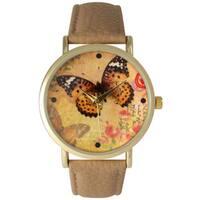 Olivia Pratt Butterflies and Roses Watch