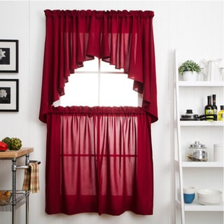 Glasgow Curtain Tier Set - 57 x 30