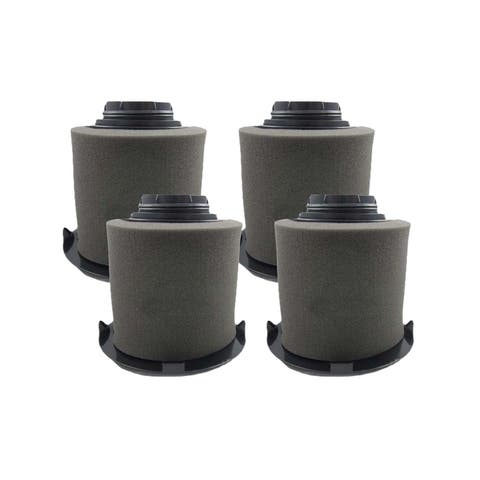4pk Replacement F16 HEPA Style Filters & Foams, Fits Dirt Devil, Compatible with Part 1-JW1100-000 & 2-JW1000-000