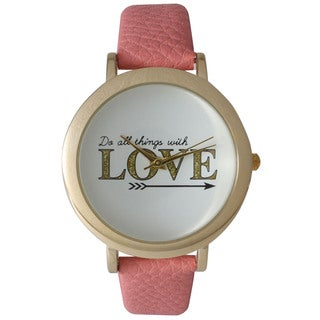 Olivia Pratt Do All Things With Love Watch