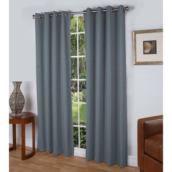 Shop Spanish Steps Black Out Grommet Curtain Panel Free