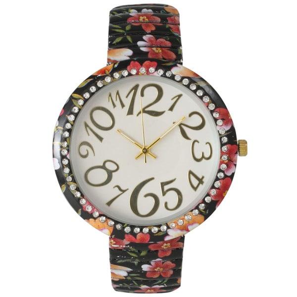 Olivia Pratt Floral Stretch Band