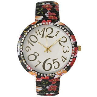 Olivia Pratt Floral Stretch Band
