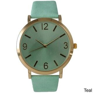 Olivia Pratt Classic Elegance Leather Watch