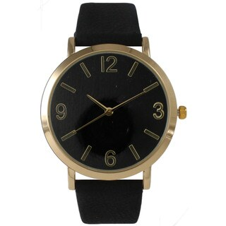 Olivia Pratt Classic Elegance Leather Watch