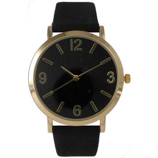 Olivia Pratt Classic Elegance Leather Watch (2 options available)