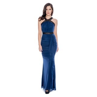 Decode 1.8 Women's Sparkling Draped Gown
