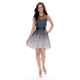 Decode 1.8 Women's Belted Ombre Dress