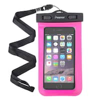 INSTEN Waterproof Bag PVC Case for iPhone/ Samsung/ LG Smartphone