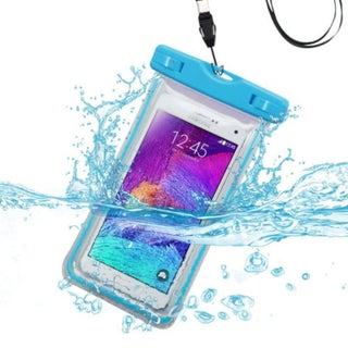 INSTEN Universal Waterproof Bag Case Cover with Lanyard (Option: Blue)