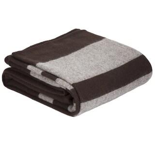 Windsor Home Australian Wool Blanket (Option: Brown - Twin)