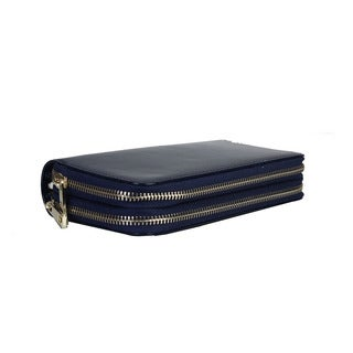 Diophy Faux Leather Triple Compartment Wallet