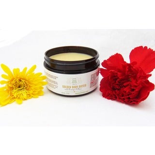 Golden Natural Body Butter for Dry Skin, Long-lasting by Karess Krafters Apothecary