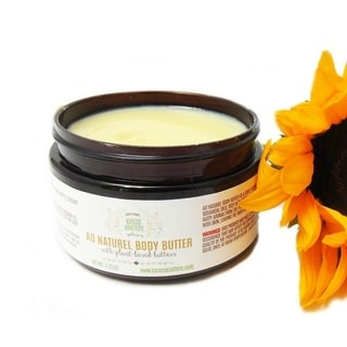 Au Naturel Natural Body Butter, Unscented for Sensitive and Dry Skin by Karess Krafters Apothecary