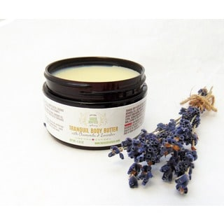 Tranquil 4 oz. Body Butter with Essential Oils for Dry Skin by Karess Krafters Apothecary