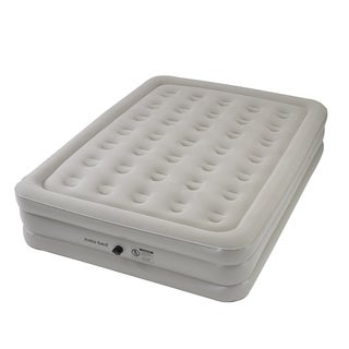 Instabed Queen-size Airbed with External AC Pump