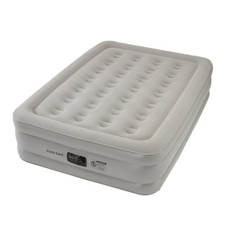 Instabed Full-size Airbed with Internal AC Pump