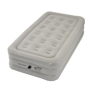 Instabed Twin-size Airbed with External AC Pump