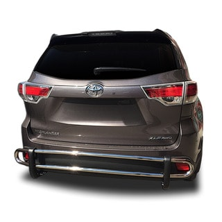 2014 - 2018 Toyota Highlander Stainless Steel Rear Double Pipe