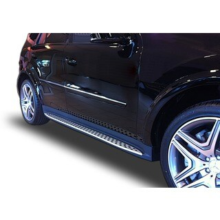 2012 - 2015 Mercedes ML350/ 550 Non-AMG Models OEM Replica Style Running Boards by Broadfeet