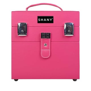 Shany Color Matters Nail Accessories Organizer and Makeup Train Case