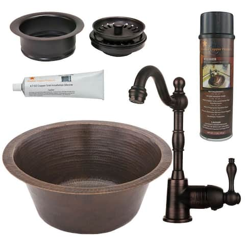 Handmade Prep Sink with Faucet and Accessories Package (Mexico)