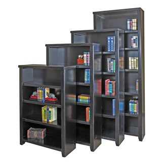 Tansley Landing Black Bookcase
