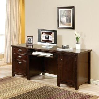 Tansley Landing Cherry Computer Credenza