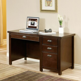 Tansley Landing Cherry Single Pedestal Desk
