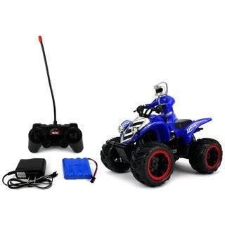 Velocity Toys ATV Road Racer Remote Control RC Car, Rechargeable, Big Size 1:10 Scale RTR