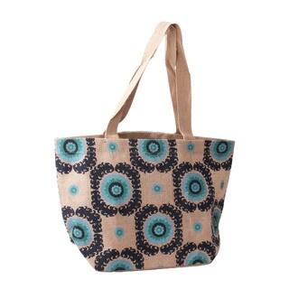 Suzanni Jute Shopper Tote Bag