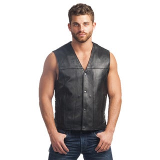 Leather Rugged Vest