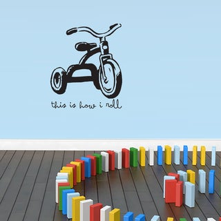 This Is How I Roll Wall Decal 30-inch Wide x 36-inch Tall