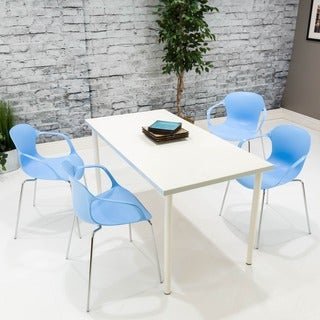 Somette Blue Dining Armchair (Set of 4)