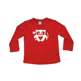 Rocket Bug Cupid Owl Baby and Toddler Tee