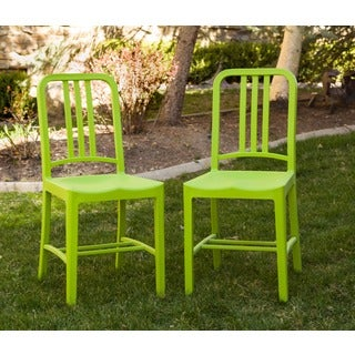 Somette Green Dining Chair (Set of 2)