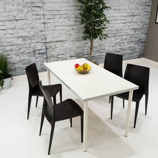 Somette Black Dining Chair (Set of 4)