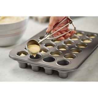Cake Boss(tm) Specialty Nonstick Bakeware 24-Cup Two-Tier Cake Pop Pan, Gray