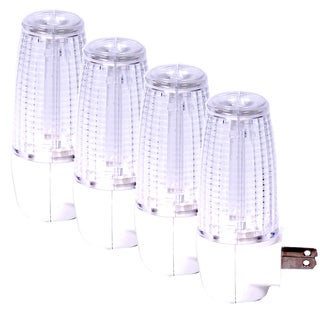Maxxima LED Night Light with Dusk to Dawn Sensor (Pack of 4)