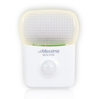 Maxxima LED Motion Activated Night Light with 5 LEDs in Warm White