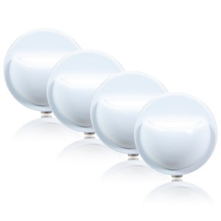 Maxxima Wall Wash LED Night Light with Sensor (Pack of 4)