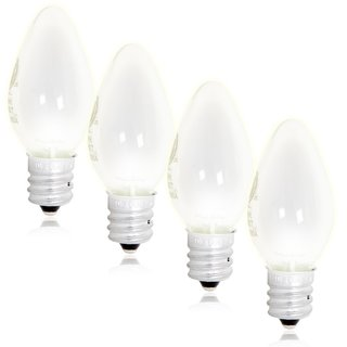 Maxxima LED C7 Candelabra Night Light Replacement Bulb (Pack 4)