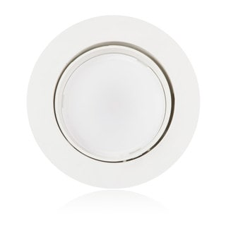 Maxxima 4-inch Dimmable Rotatable LED Retrofit Downlight 2700K Warm White 750 Lumens