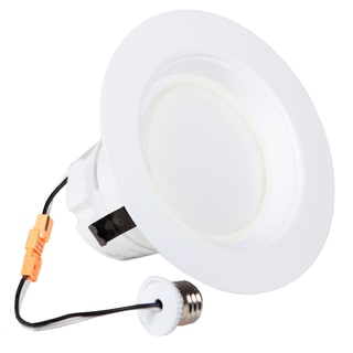 Maxxima 4-inch Dimmable LED Retrofit Downlight 4000K Neutral White 850 Lumens