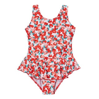 Dippin' Daisy's Girls' Red Cherry Fruit One Piece