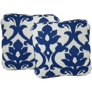 Basalto Indoor/Outdoor Turkish Corner 17-inch Throw Pillow (Set of 2)