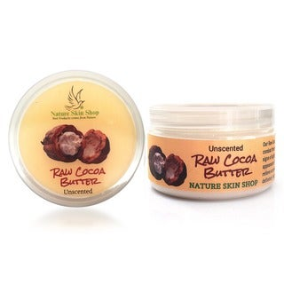 Unscented Raw Cocoa Butter Body Butter Bliss