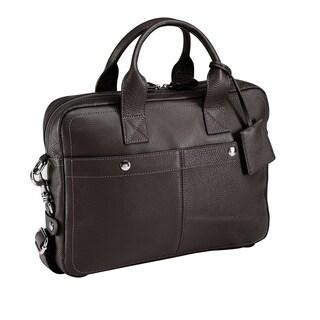 Bugatti Brisbane Italian Leather Briefcase